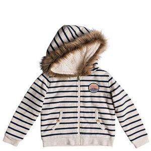 Roxy girl Slumber Party Sherpa Lined Zip Up Hooded